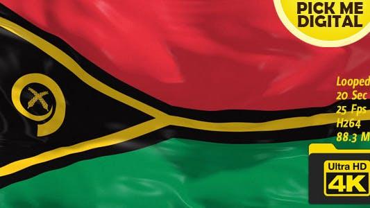 Thumbnail for Vanuatu Flag 4K