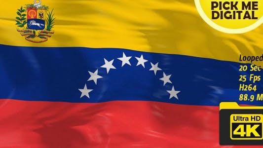 Venezuela Flag 4K