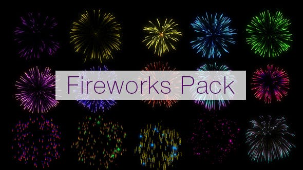 Thumbnail for Realistic Fireworks Pack