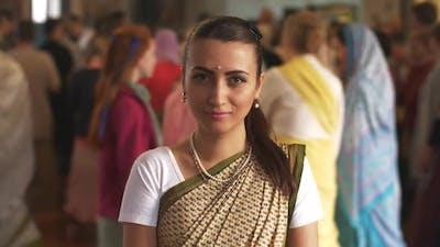Hare Krishna Woman
