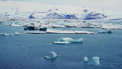 Famous Glacier Lagoon