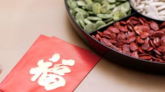 Thumbnail for Chinesisch sortierte Snack-Tablett für Mondneujahr