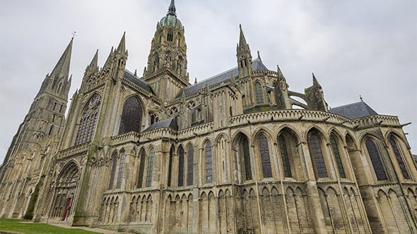 Thumbnail for Bayeux, Normandy, France - The Cathedral