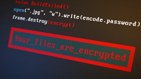 Files are Encrypted
