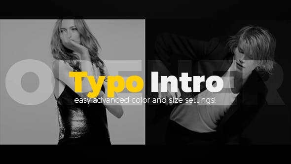 Thumbnail for Typo Intro Opener