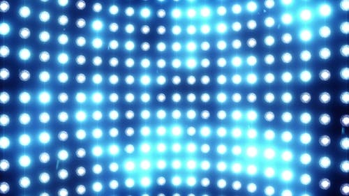 A Wall of Light with a Blue Tint