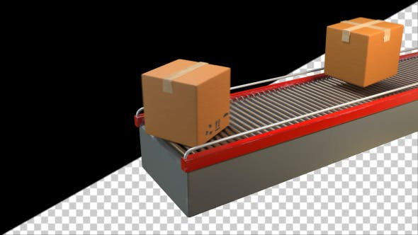 Thumbnail for Belt Conveyor in Action