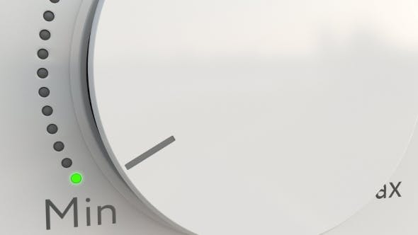 Thumbnail for Turning White Hi-tech Knob