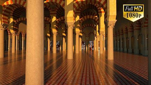 3D Moschee — Innen
