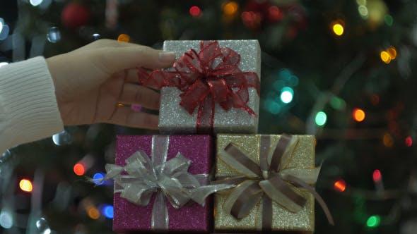 Thumbnail for Placing Christmas Gift Box