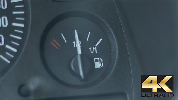 Thumbnail for Fuel Gauge of a Car