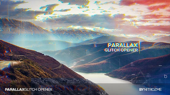 Thumbnail for Parallax Glitch Opener