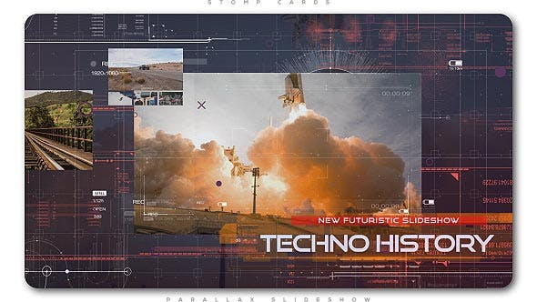 Cover Image for Futuristic Technology Slideshow | Opener