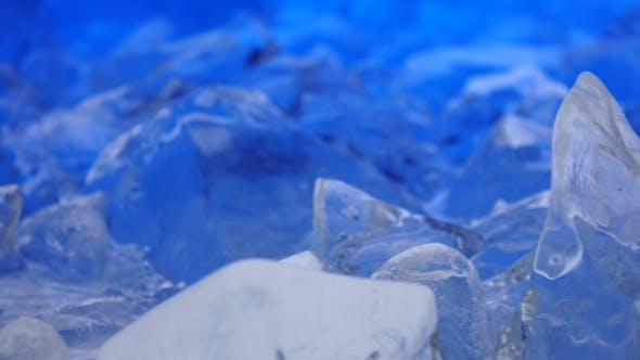 Cover Image for Fragments of Ice Lie on the Table, the Light Parades It.