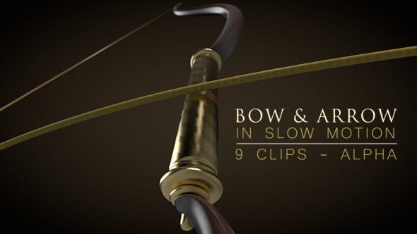 Thumbnail for Bow and Arrow in Slow Motion