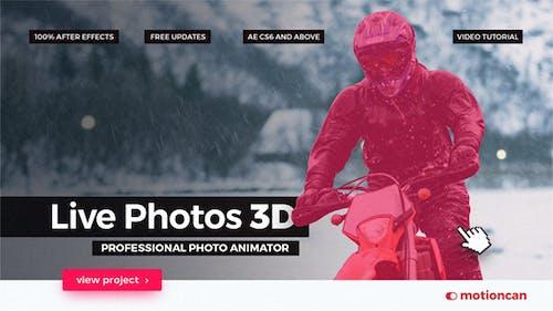 Live Photos 3D - Professional Photo Animator