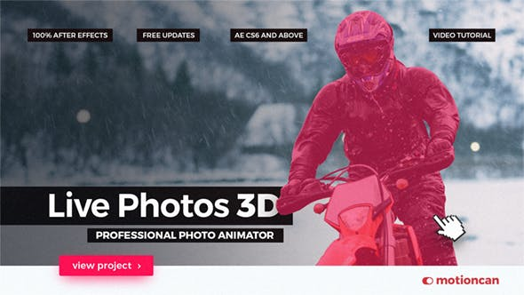 Thumbnail for Live Photos 3D - Professional Photo Animator