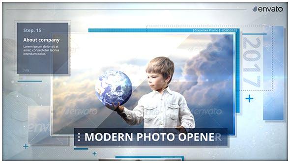 Thumbnail for Abridor de fotos moderno