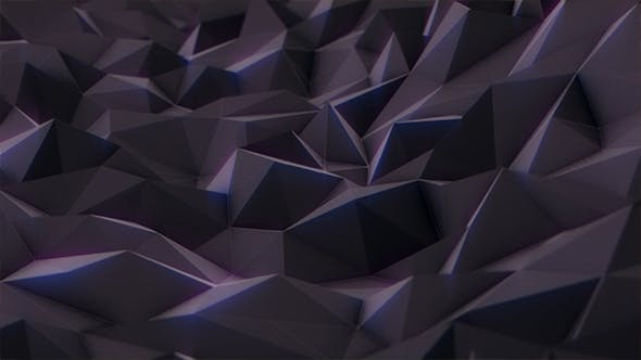 Thumbnail for Low Poly Black Abstract