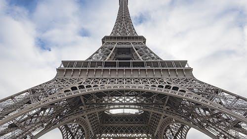 Paris, France - Timelapse - Under the Eiffel Tower