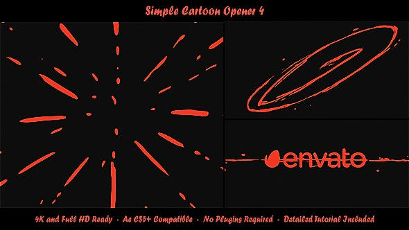 Thumbnail for Simple Cartoon Opener 4