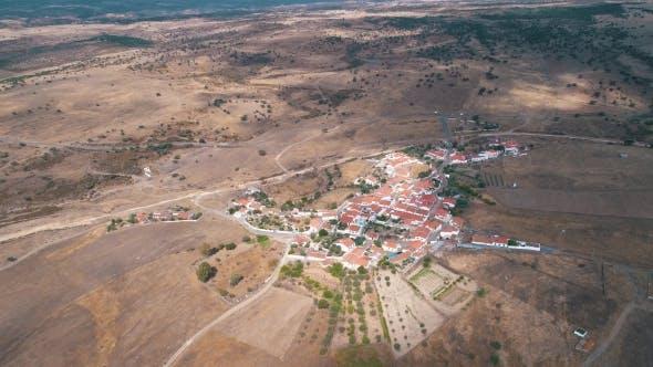 Thumbnail for Luftbild Rot Ziegeldächer Typisches Dorf