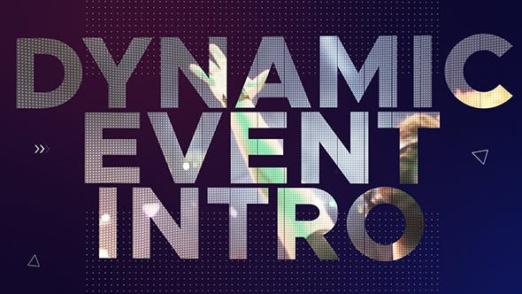Thumbnail for Dynamic Event Intro | After Effects Template