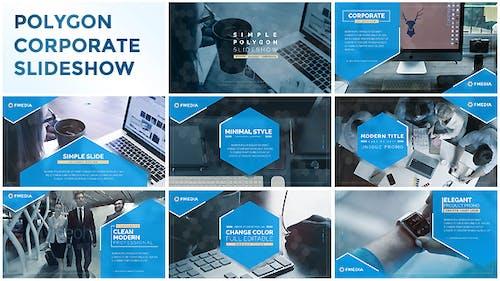 Simple Polygon Corporate Slideshow