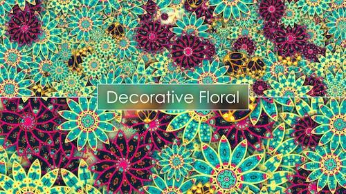 Decorative Floral Backgrounds