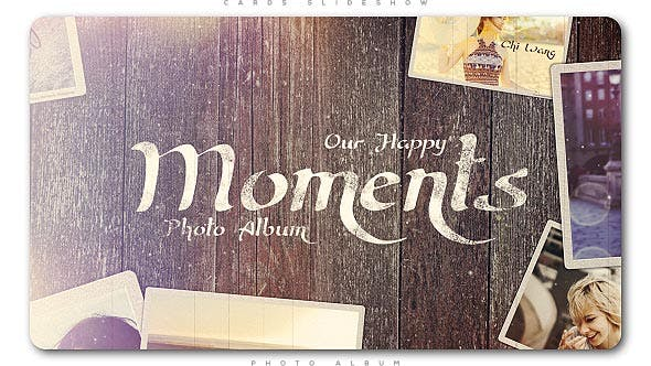 Thumbnail for Happy Moments Slideshow