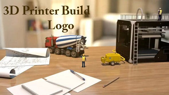 Cover Image for 3D Printer Build Logo