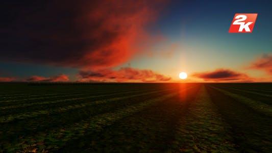 Sunset Truck Field