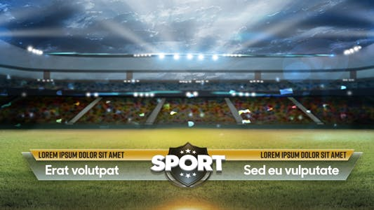 Thumbnail for Sport Lower Thirds