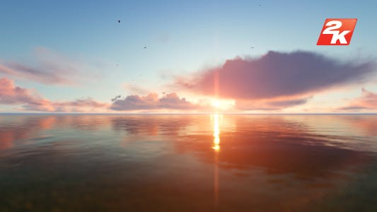 Thumbnail for Sunset Ocean and Birds