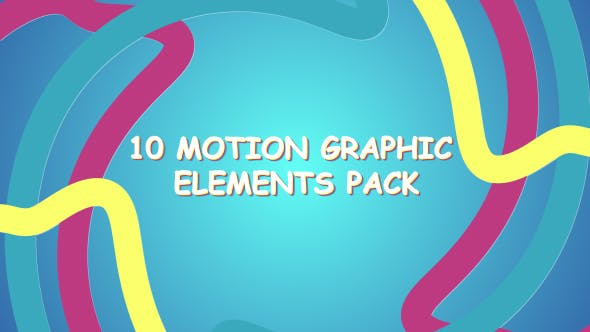 Candy Motion Graphic Elemenets Pack