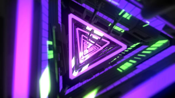 Thumbnail for Triangle Light Technology Background