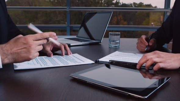 Thumbnail for Signature of the Contract