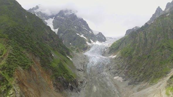 Thumbnail for Glacier Valley in Svaneti Rocks, Georgia