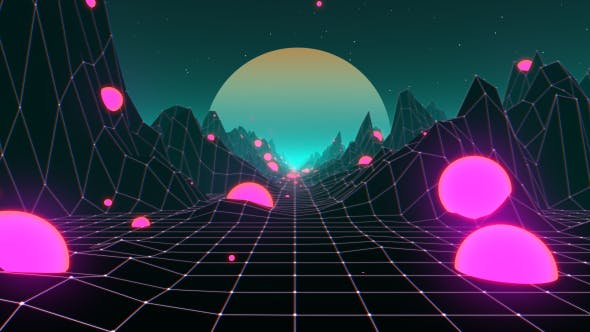 Thumbnail for 80s Mountain VJ