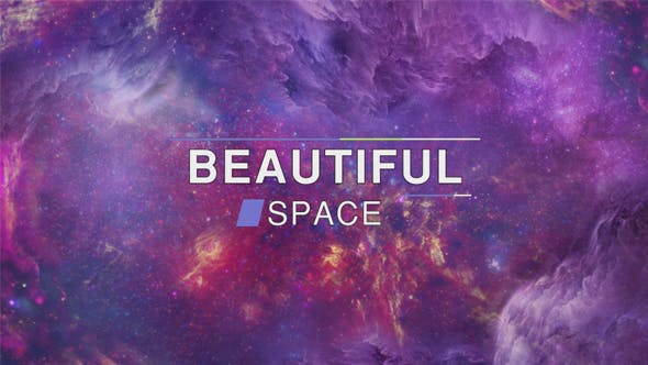 Thumbnail for Beautiful Colorful Sci-Fi Mysterious Space Nebula