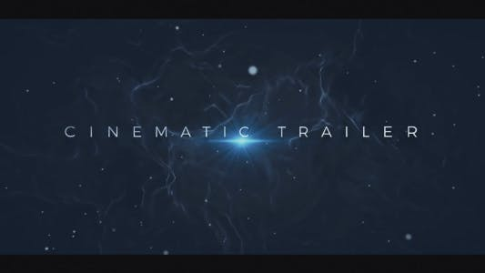 Cover Image for Cinematic Trailer