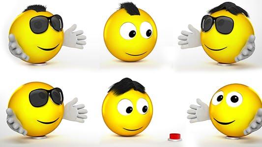 Thumbnail for Funny Emoji Logo Reveal