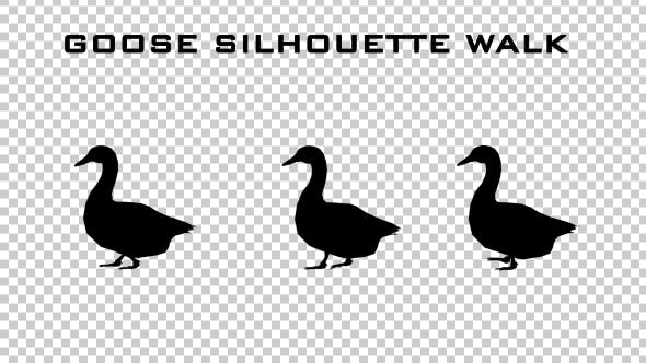 Cover Image for Goose Silhouette Walk Animation