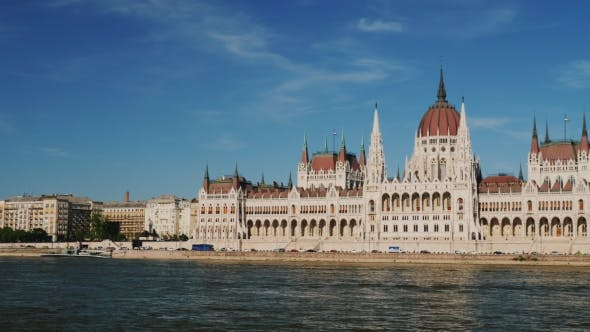 Thumbnail for One of the Most Beautiful Buildings of Parliament in Europe in Budapest