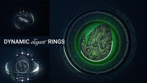 Thumbnail for Logo des anneaux dynamiques