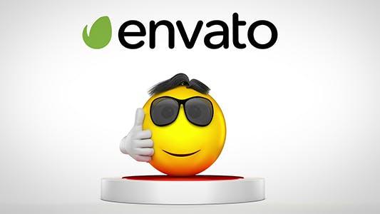 Thumbnail for Jumping Emoji Logo Reveal