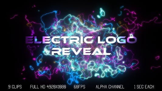 Cover Image for Electric Logo Reveal