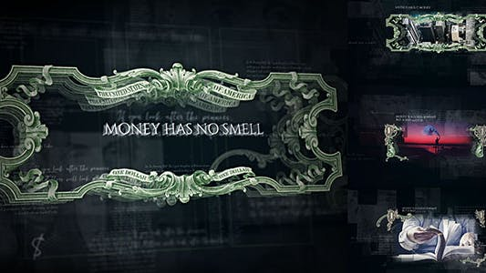 Thumbnail for Money Has No Smell/ Dollars Rule The World/ Banknotes and Bonds/ Business/ Economics/ Corporate/ $