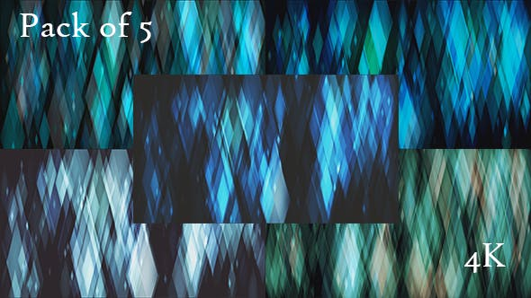 Thumbnail for Blue Diamond Bokehs Backgrounds Loops