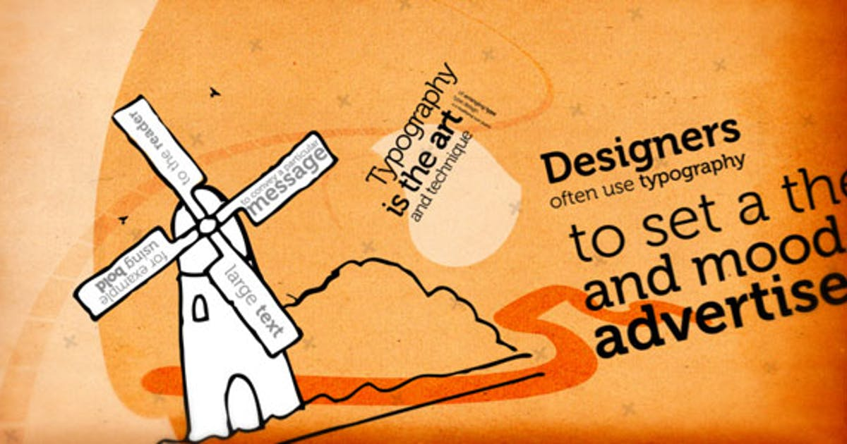 Download Typography Project by EFEKT_Studio